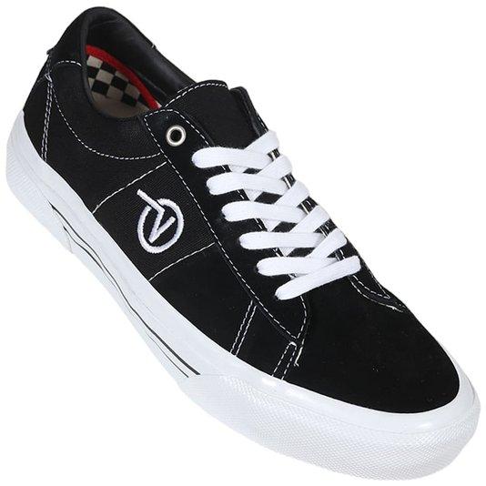 Tênis Vans Skate Sid Preto/Branco