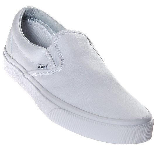 Tênis Vans Slip-On True Branco