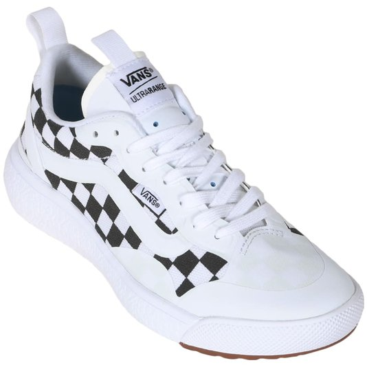 Tênis Vans Ultrarange Exo Checkerboard  Branco/Preto