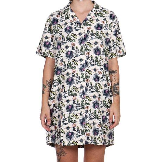 Vestido Vans Califas Dress Marshmallow Floral