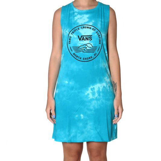 Vestido Vans Wm 2020 Vtcs Logo Azul