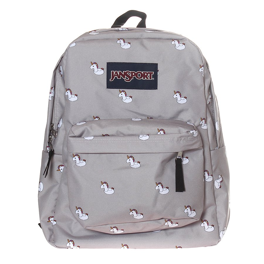 b813d100d Mochila Jansport Unicórnio Cinza - Rock City