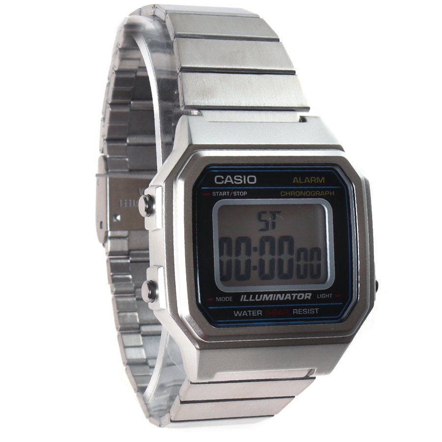3b30704c8be Relógio Casio Vintage B650WD-1ADF Prata - Rock City
