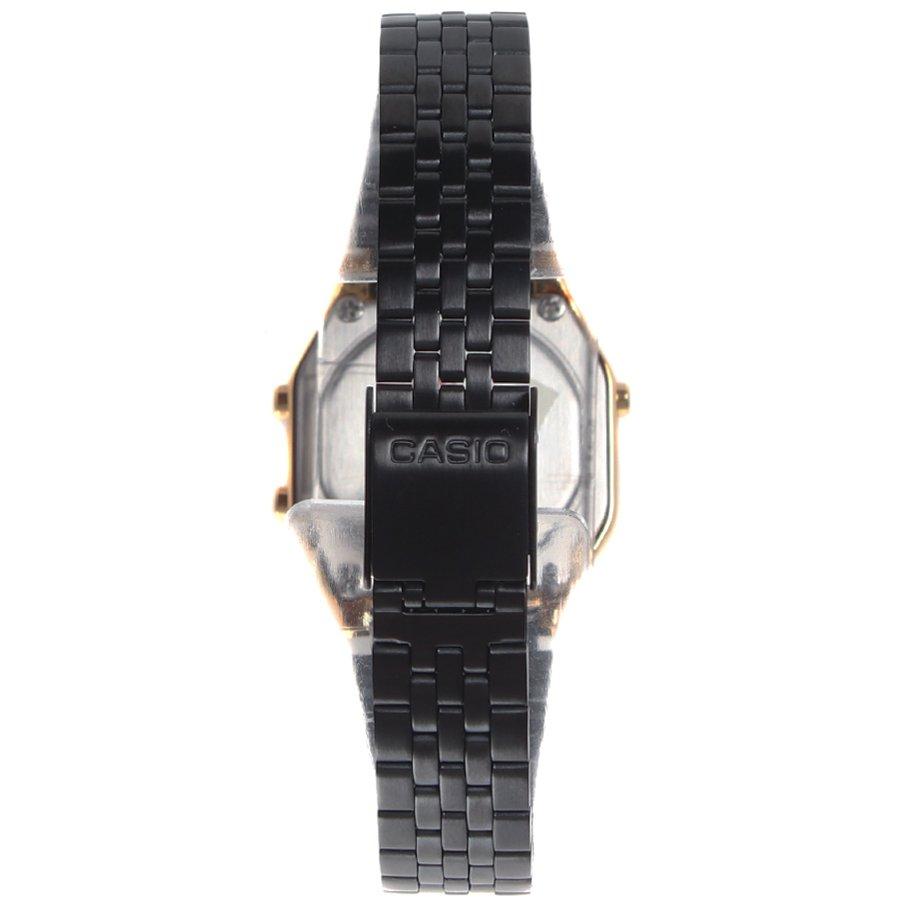 22c11d49042 Relógio Casio Vintage LA680WEGB-1ADF Dourado Preto - Rock City