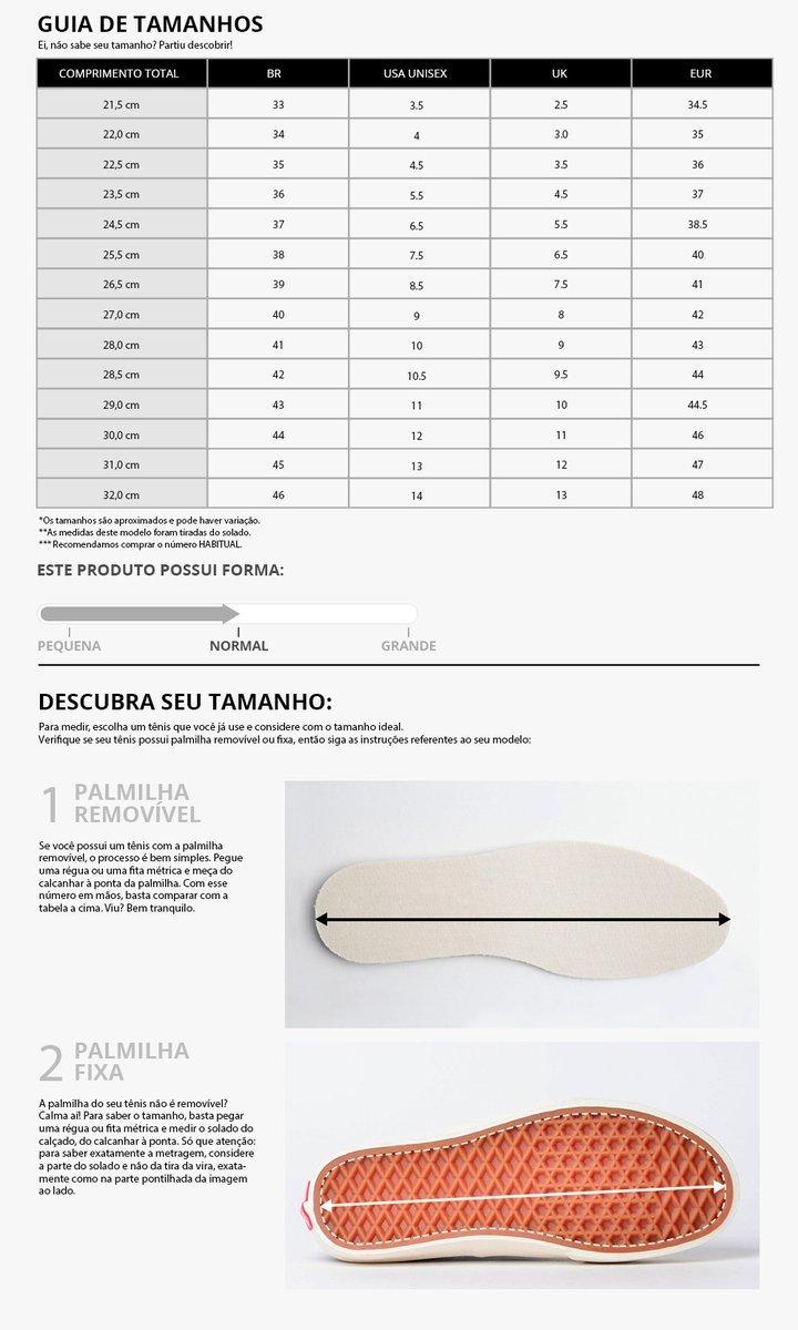 Tênis Vans Old Skool Plataforma Checkerboard Preto/Branco