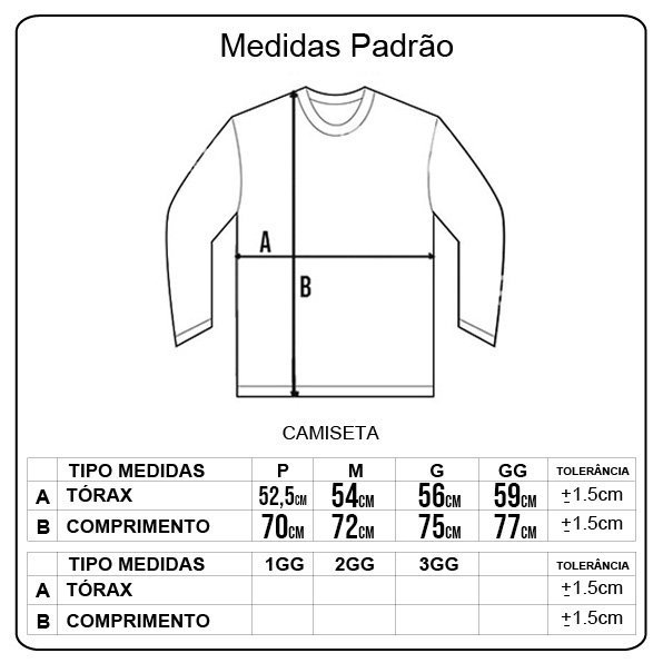 Camiseta Thank You M/L Cloudy Preto