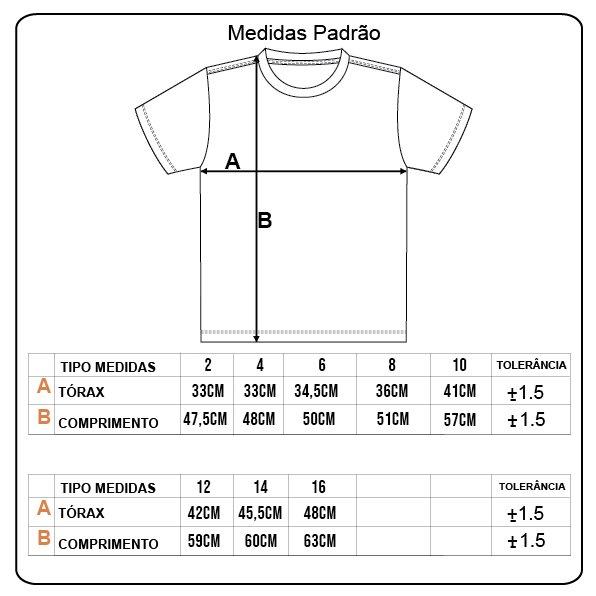 Camiseta Rock City Original Style Infanto - Juvenil Mescla