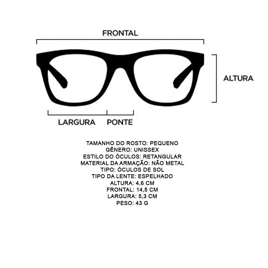 Óculos Evoke On The Rocks IX BL G22 Tartaruga Marrom/Dourado