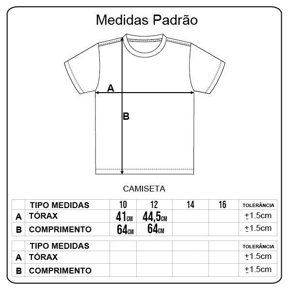 Camiseta Dropdead Logo Classico Infantil Mescla