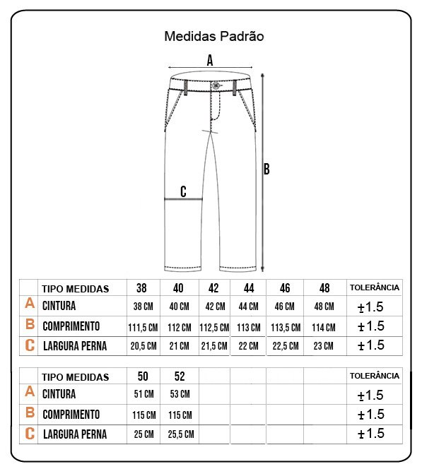 Calça Rock City Tailor Pants Azul Marinho