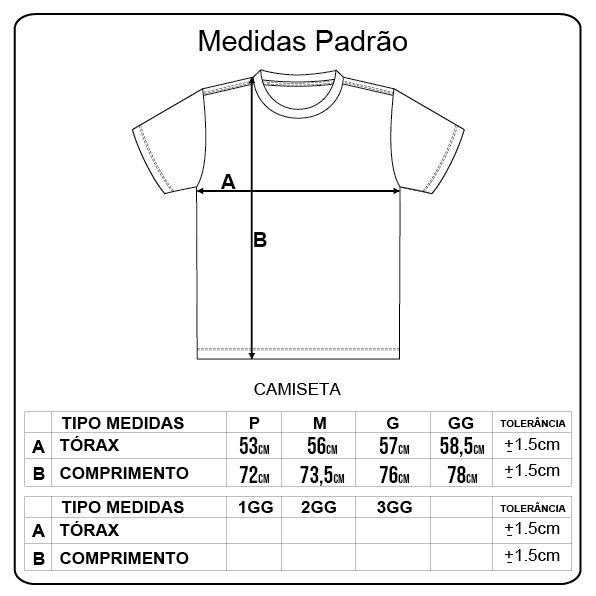 Camiseta Diamond Heart Of Tee Preto