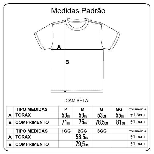 Camiseta Lrg Stacked Preto