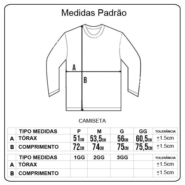 Camiseta Santa Cruz Classic Dot Front M/L Azul Marinho