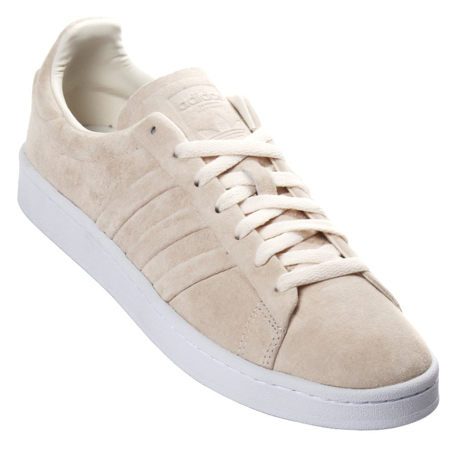 look for d0b79 ef671 Tênis Adidas Campus Stitch And Turn Bege