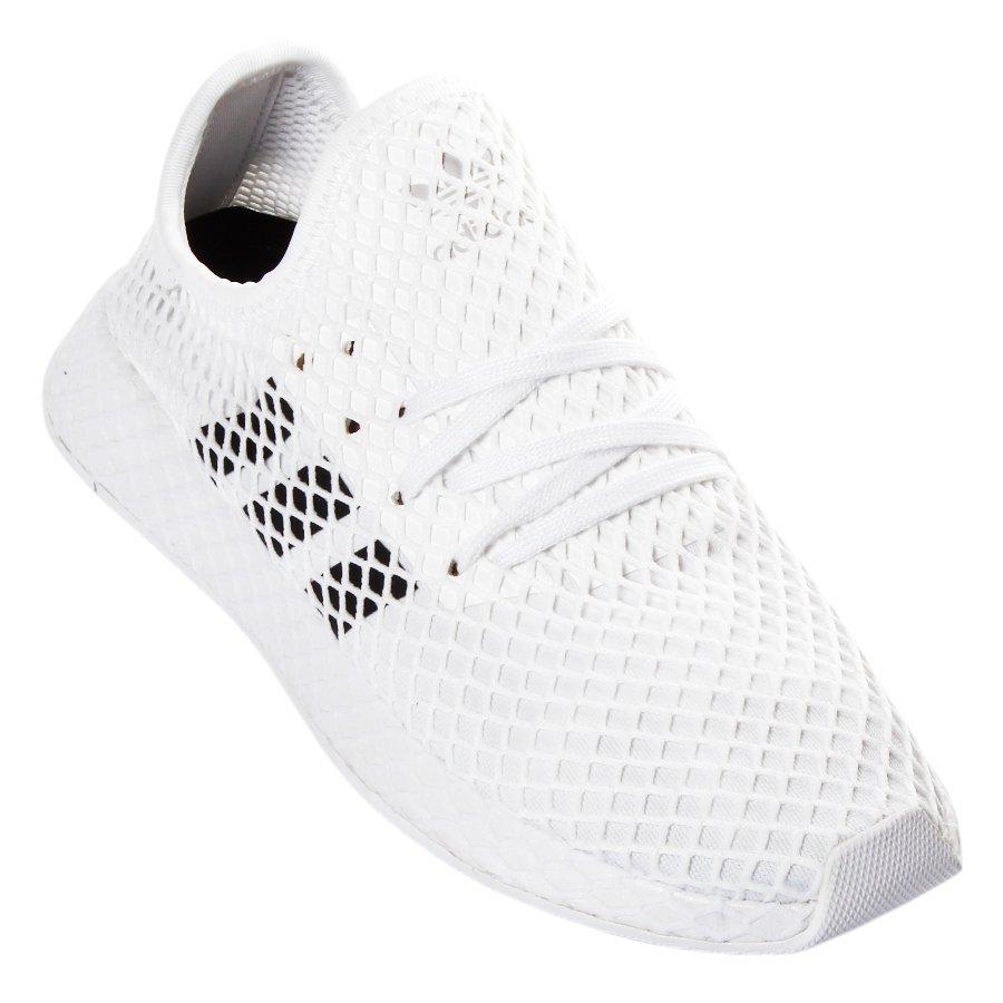 8e8b87e0e6 Tênis Adidas Deerupt Branco Preto - Rock City