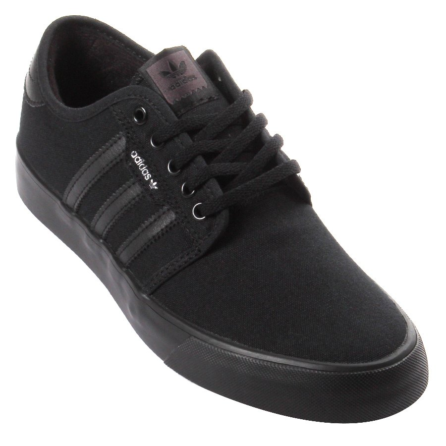 1287c1a6c84 Tênis Adidas Seeley Preto Preto - Rock City