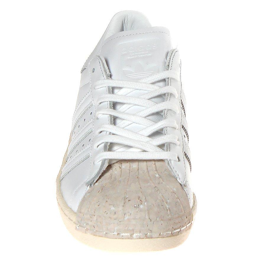 Tênis Adidas Superstar 80 s Cork Branco Creme  Tênis Adidas Superstar 80 s  Cork Branco  ... 535171208bae1