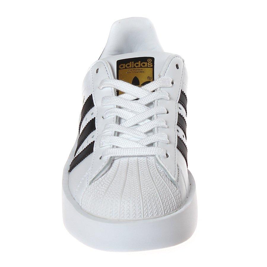 8f100d6162c6e Tênis Adidas Superstar Bold Branco Preto - Rock City