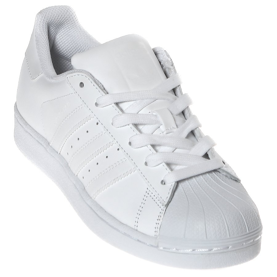 2babe44b29 Tênis Adidas Superstar Foundation J Branco - Rock City