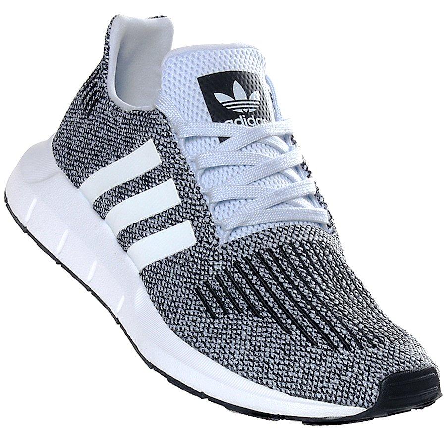 17c1eb2d6f Tênis Adidas Swift Run Branco Preto - Rock City
