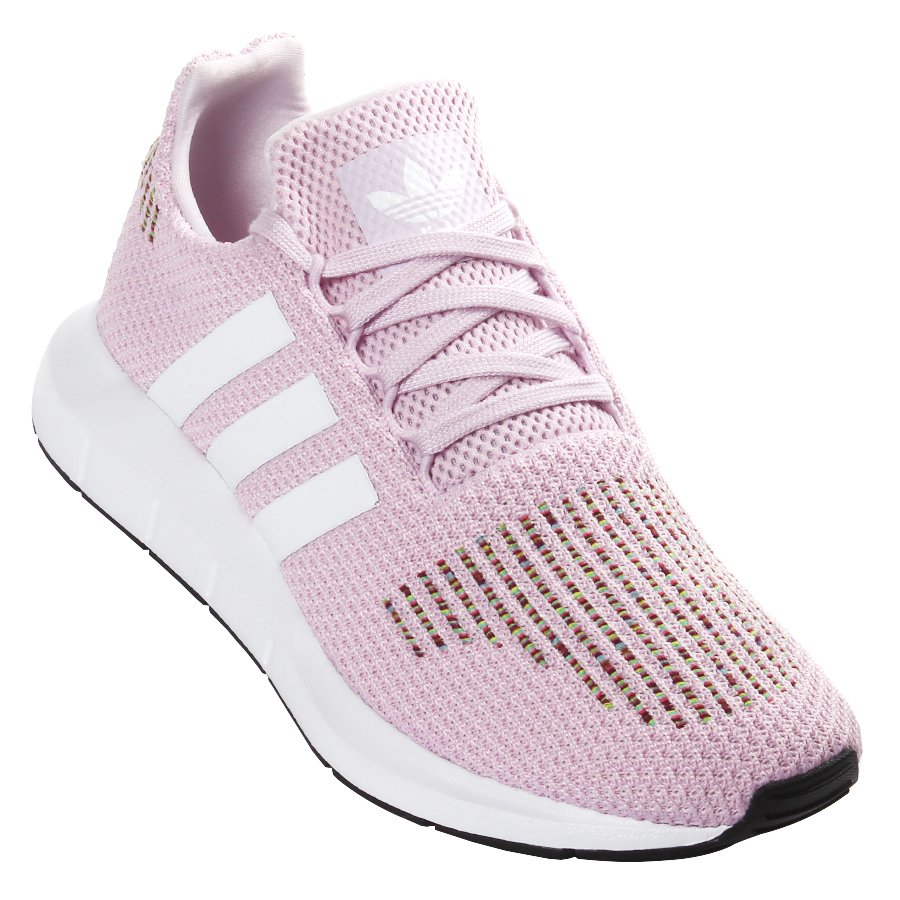 best wholesaler how to buy factory outlets Tênis Adidas Swift Run Rosa