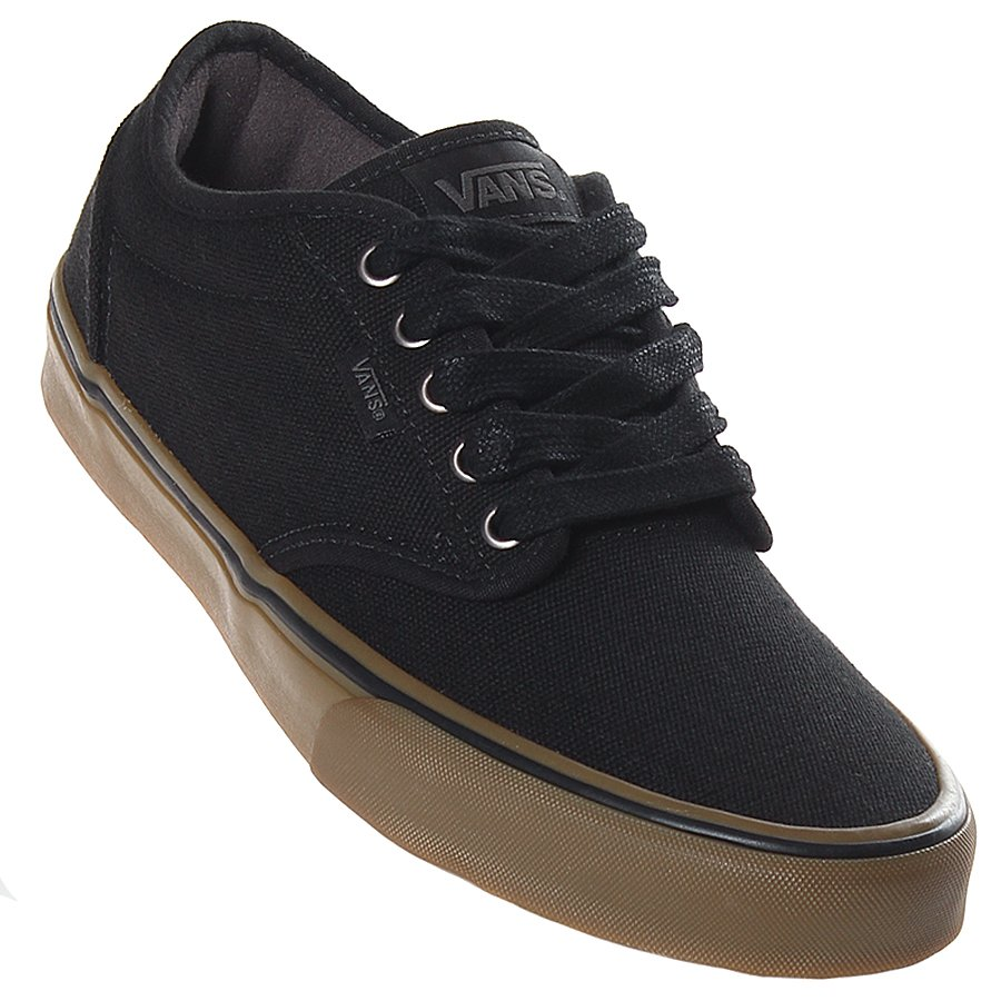 Tenis Vans Atwood Canvas Preto Marrom - Rock City ba313eef9c3