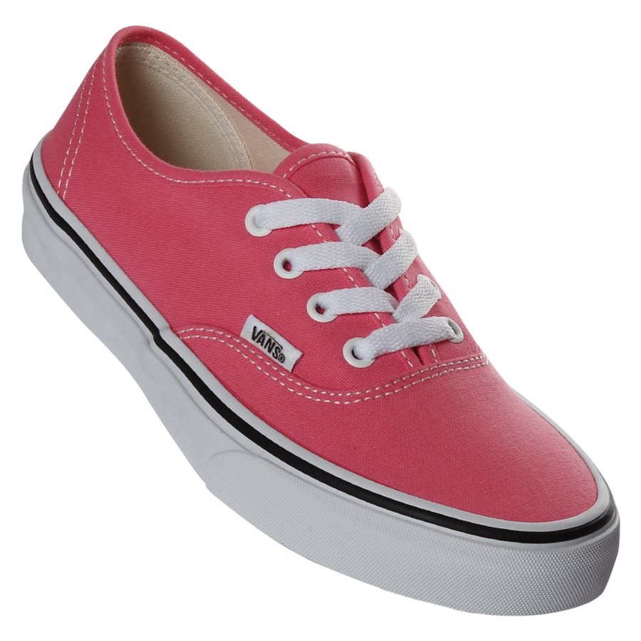 ff9af39a809 Tênis Vans Authentic Rosa - Rock City