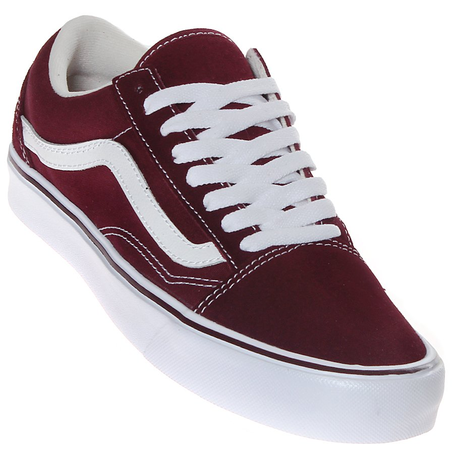 Tênis Vans Old Skool Lite Bordo - Rock City 33f0bf8c61
