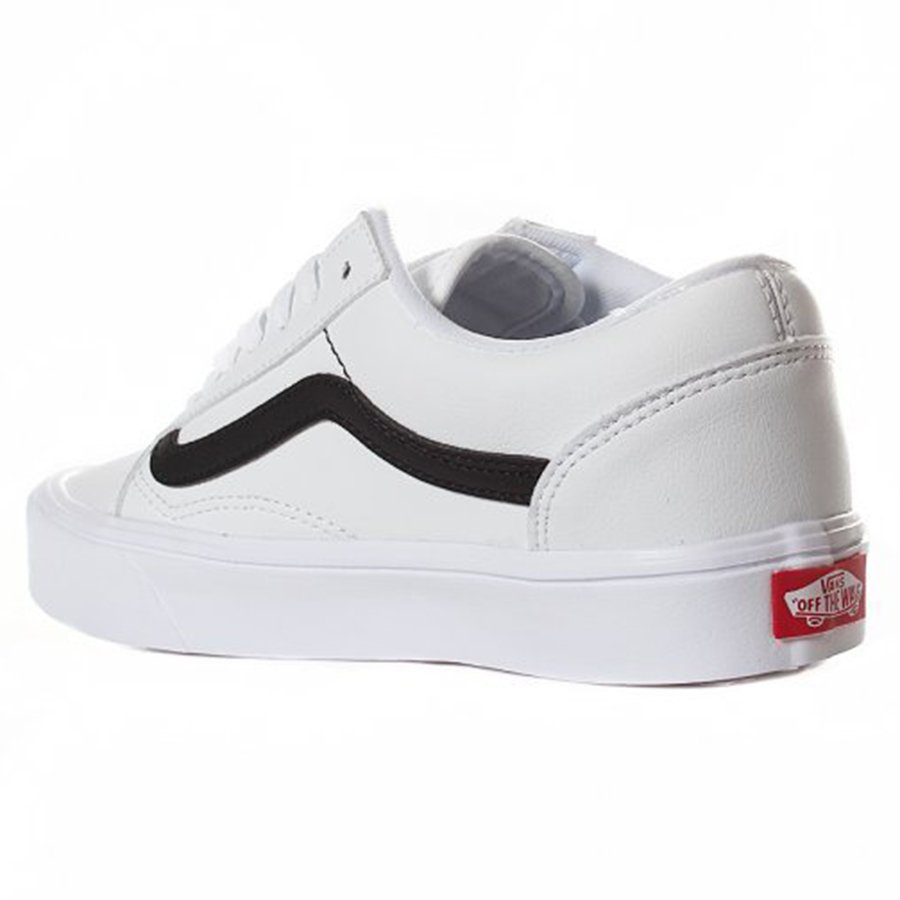 ed83ddeec8 Tênis Vans Old Skool Lite Branco Preto - Rock City