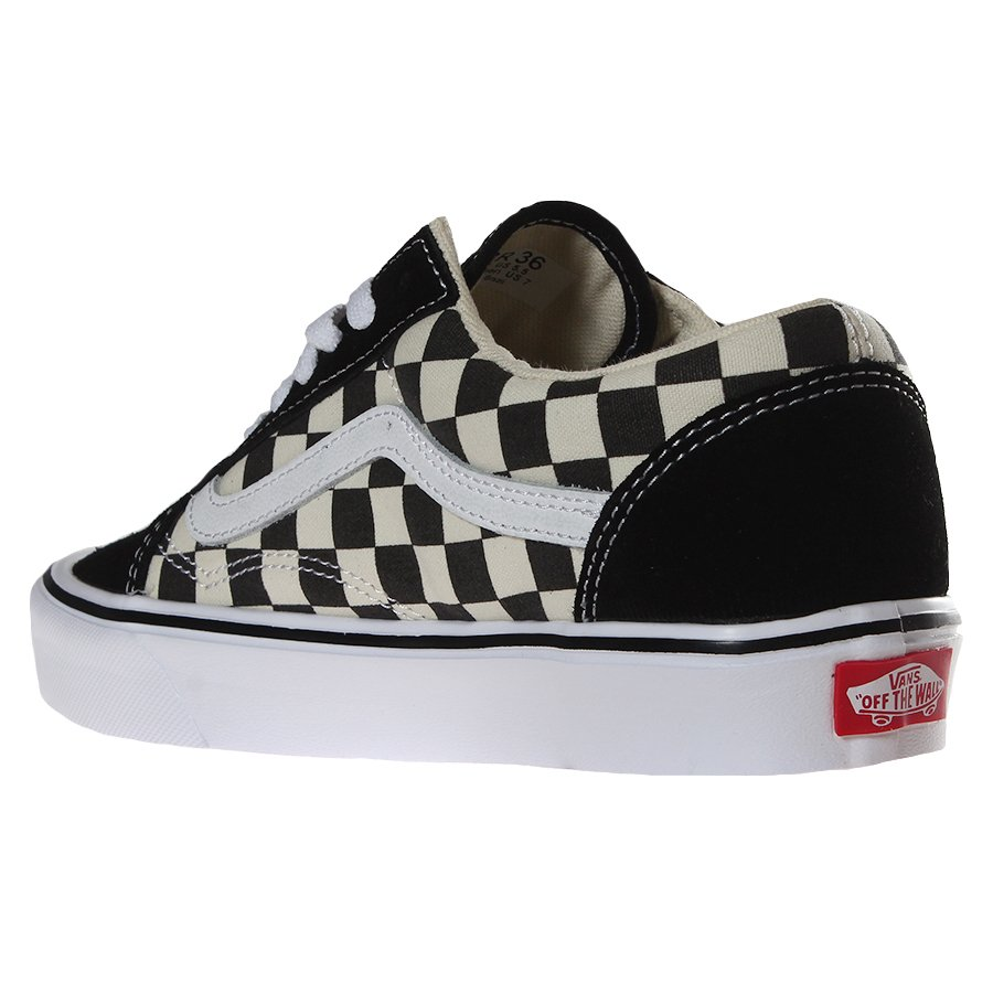 536c3dd46ca08 Tênis Vans old Skool Lite Checkboard Preto Branco - Rock City