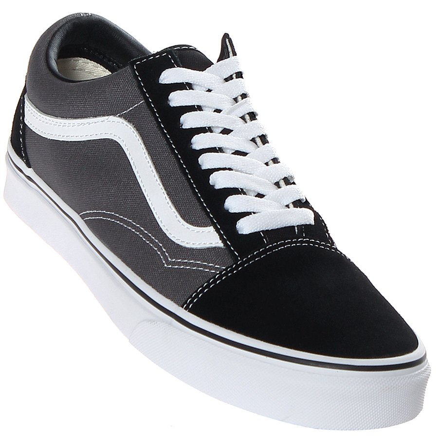 be8841153e1 Tênis Vans Old Skool Preto Cinza - Rock City
