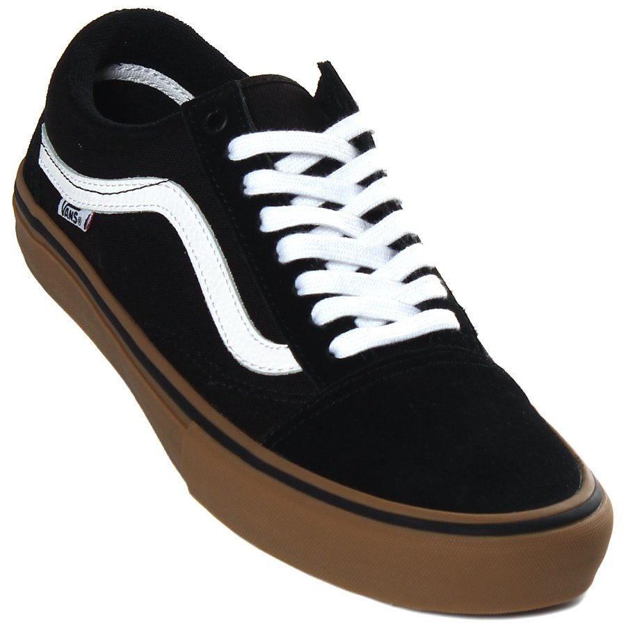 736c6df38d7a6 Tênis Vans Old Skool Pro Preto Marrom - Rock City