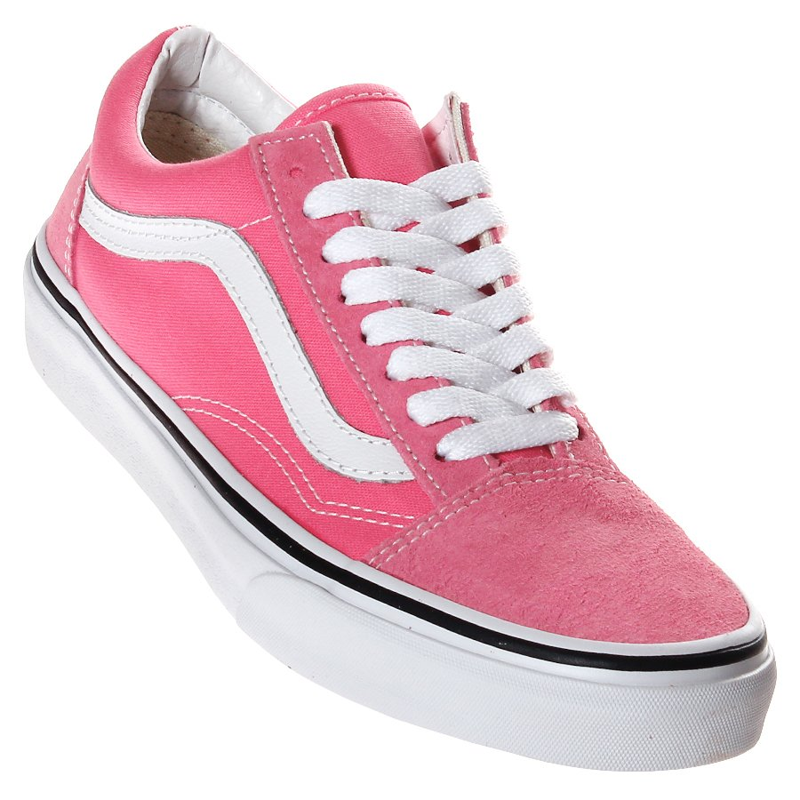 5d998d7d66 Tênis Vans Old Skool Rosa Branco - Rock City
