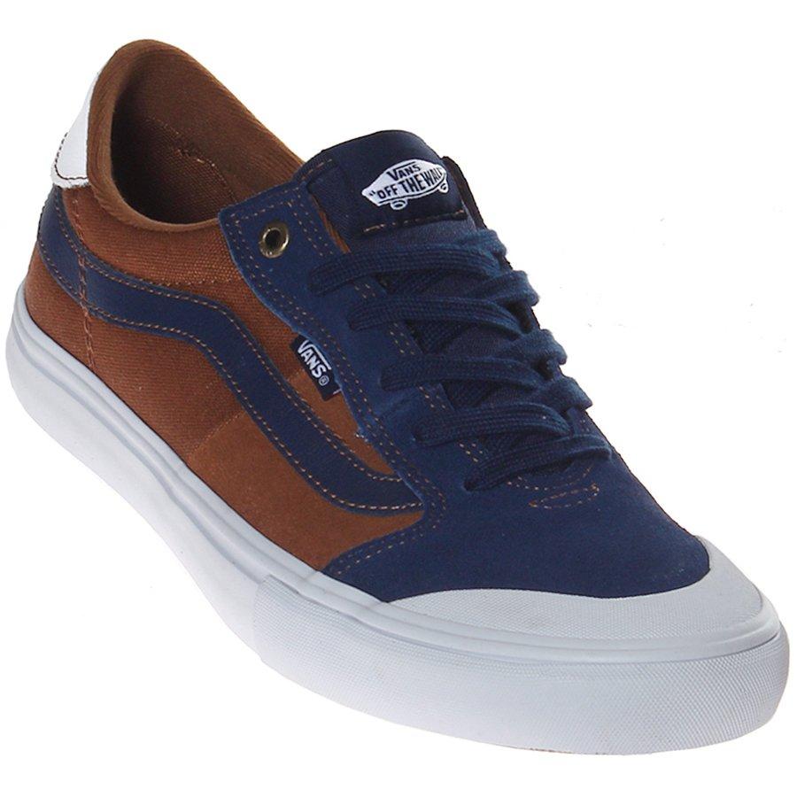 3c17fc24ed2 Tênis Vans Style 112 Pro Marrom Azul - Rock City