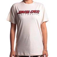 Camiseta Santa Cruz Classic Stripe Bege Claro