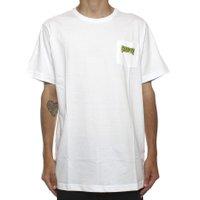 Camiseta Creature Logo Pocket Branco