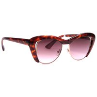 Óculos Evoke Cat City Turtle Gradient Marrom/Prata