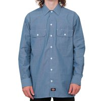Camisa Dickies Ml Basic Azul