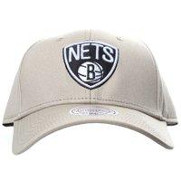 Boné Mitchell & Ness Brooklyn Nets Khaki