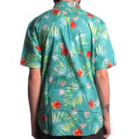 Camisa Vans Daintree Baltic Decay Palm Floral