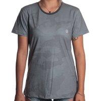 Camiseta Volcom Lido Camo Cinza Escuro