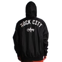 Jaqueta Rock City Windbreak Army Preto