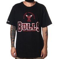 Camiseta Mitchell & Ness Technical Foul Preto