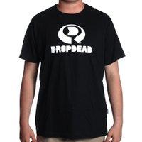 Camiseta Dropdead Big Drop Logo Preto