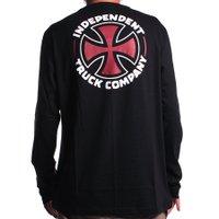 Camiseta Independet M/L ITC Cross Preto