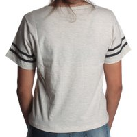 Camiseta Volcom Past Is Past Creme Mescla