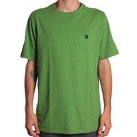 Camiseta Hurley Mini Logo Icon Verde Mescla