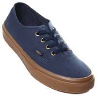 Tênis Vans Authentic Azul Marinho/Marrom/Dourado