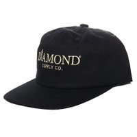Boné Diamond Mayfair Unstructured Preto