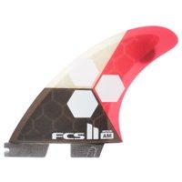 Quilha FCS 2 Shaper Series Al Merrick Preto/Vermelho